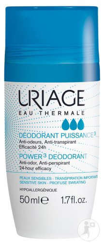 Uriage Eau Thermale Deodorant Power3 Roller 50ml