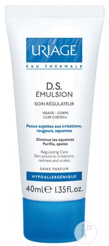 Uriage Eau Thermale DS Emulsion Gegen Irritationen Tube 40ml