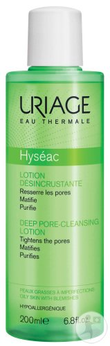 Uriage Eau Thermale Hyséac Peelinglotion Fettige Haut Flakon 200ml