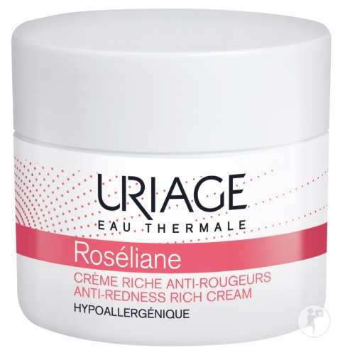 Uriage Eau Thermale Roséliane Reichhaltige Creme Anti-Rötungen Tiegel 40ml