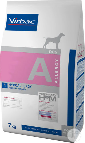 Virbac Veterinary HPM Dog Hypoallergy Insect A1 Hund Beutel 7kg