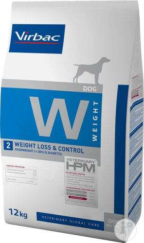 Virbac Veterinary HPM Dog W 2-Weight Loss & Control Beutel 12kg