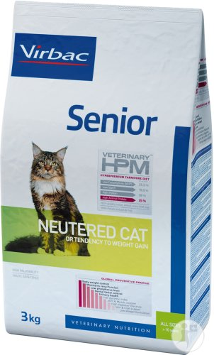 Virbac Veterinary HPM Senior Neutered Cat Beutel 3kg
