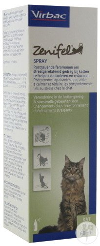 Virbac Zenifel Spray Kat 60ml