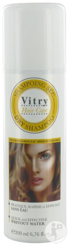 Vitry Hair Care Trockenshampoo Alle Haartypen Wasserfrei Spray 200ml