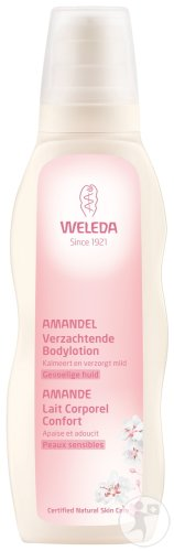 Weleda Mandel Sensitiv Pflegelotion Pumpflakon 200ml