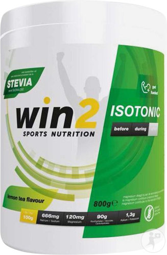 Win2 Isotonic Lemon Tea Pdr 800g