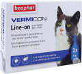 Beaphar Vermicon Line-On Pour Chats Ampoules 3x1ml