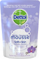 Dettol Foam Magic Mousse 100% Hygiénique Antibactérien Fleur Orchidée Vanille Recharge 200ml
