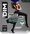 Dim Perfect Contention Collant 80D Ultra-Opaque Marine Taille 2 Paire 1