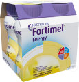 Fortimel Energy Vanille Bouteilles 4x200ml