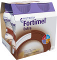 Fortimel Extra Chocolat Bouteilles 4x200ml