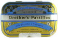 Grether's Blackcurrant Pastilles Sans Sucre 110g