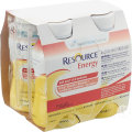 Nestlé Resource Energy Banane Bouteilles 4x200ml