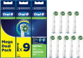 Oral-B EB50-9 Cross Action Mega Pack Refill 9 Pièces
