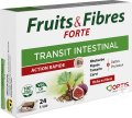 Ortis Fruits & Fibres Forte Transit Intestinal 24 Cubes
