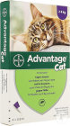 Advantage Cat 80 Solution Pour Spot-On Pour Chats >4kg Pipettes 4x0,8ml