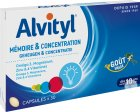 Alvityl Mémoire Et Concentration Arôme Vanille 30 Capsules