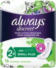 Always Discreet Incont Pads Small Plus Sp 16