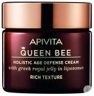 Apivita Queen Bee Age Defense Crème Riche Visage Raffermissante & Réparatrice 50ml