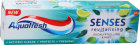Aquafresh Senses Revitalising Dentifrice Eucalyptus Lime Menthe 75ml