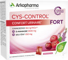 Arkopharma Cys-Control Fort Confort Urinaire Bruyère Canneberge 14 Sachets
