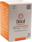 Arrow Generiques Orocal Vitamine D3 500mg/200U.I. Comprimés À Sucer 60