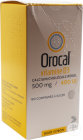 Arrow Generiques Orocal Vitamine D3 500mg/400U.I. Comprimés À Sucer 180