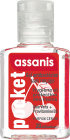 Assanis Pocket Gel Mains Cerise 20ml