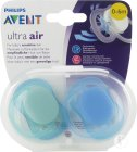 Philips Avent Sucette Ultra air - SCF244/20 (0m+) - 2x
