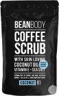 Bean Body Coffee Scrub Gommage Café Noix Coco Peaux Sèches Vergetures Cellulite Imperfections 220g