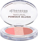 Benecos Natural Beauty Compact Trio Blush Teinte Fall In Love 5,5g