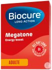 Biocure Long Action Megatone Energy Boost Adulte 60 Comprimés Pelliculés