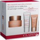 Clarins Coffret Extra-Firming Jour 50ml + Gratuit Doux Nettoyant 30ml + Extra-Firming Nuit 15ml