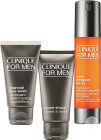 Clinique For Men Coffret Anti-Fatigue Super Energizer 48ml + Crème Raser 60ml + Désincrustant 50ml