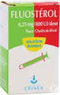 Crinex Fluostérol Cholécalciférol Fluorure De Sodium 0,25mg/800U.I Dose Solution Buvable 22,5ml