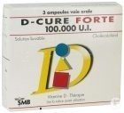 D-Cure Forte 100.000 U.I. Solution Buvable 3 Ampoules