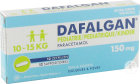 Dafalgan Pédiatrique 150mg Paracétamol 12 Suppositoires