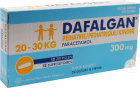 Dafalgan Pédiatrique 300mg Paracétamol 12 Suppositoires