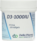 Deba D3 1000iu Softgels 120