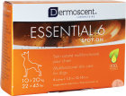 Dermoscent Essential 6 Spot-On Chien 10-20kg Pipettes 4x1,2ml