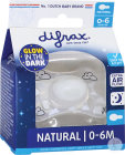 Difrax Sucette Natural 0-6 Nuit
