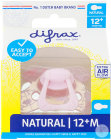Difrax Sucette Natural 12+ Mois Melody 1 Pièce