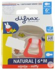 Difrax Sucette Natural 6+ Miffy