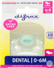 Difrax Sucette Silicone Mini-Dental 0-6 Mois Pièce 1 (799)