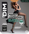 Dim Perfect Contention Collant 25D Transparent Gazelle Taille 4 Paire 1