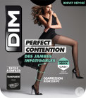Dim Perfect Contention Collant 25D Transparent Noir Taille 4 Paire 1