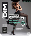Dim Perfect Contention Collant 45D Opaque Noir Taille 4 Paire 1