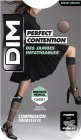 Dim Perfect Contention Mi-Bas 25D Fantaisie Noir Plumetis Taille 36/38 Paire 1