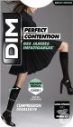 Dim Perfect Contention Mi-Bas 80D Ultra-Opaque Noir Taille 39/41 Paire 1
